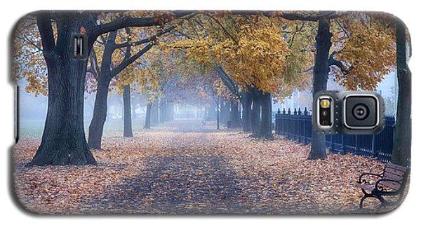 A Walk In Salem Fog Galaxy S5 Case