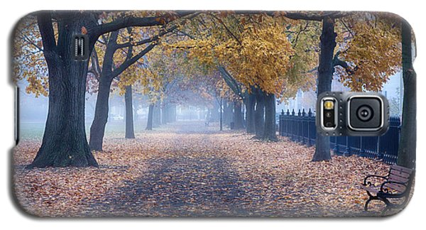 A Walk In Salem Fog Galaxy S5 Case