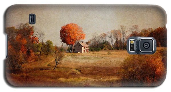 A Walk In The Meadow With Texture Galaxy S5 Case