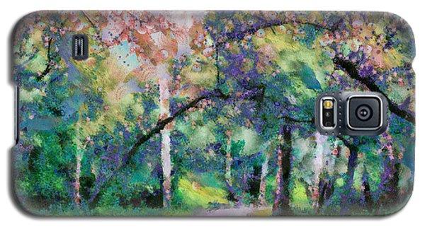 A Walk Inside The Rainbow Forest Galaxy S5 Case