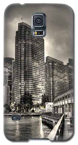 A Walk On The Embarcadero Waterfront Galaxy S5 Case