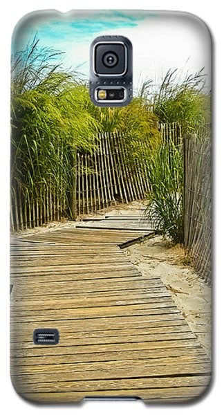 A Walk To The Beach Galaxy S5 Case by Colleen Kammerer
