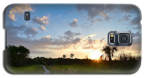 Galaxy S5 Case featuring the photograph A Walk With You... by Melanie Moraga