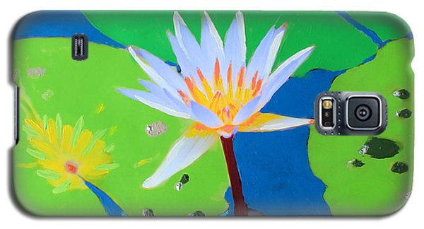 A Water Lily In Its Pad Galaxy S5 Case