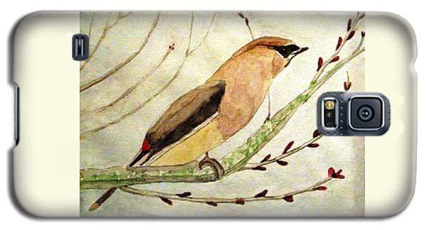 A Waxwing In The Orchard Galaxy S5 Case