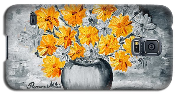 A Whole Bunch Of Daisies Selective Color I Galaxy S5 Case