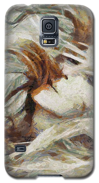 Galaxy S5 Case featuring the painting A Wild Dance by Joe Misrasi