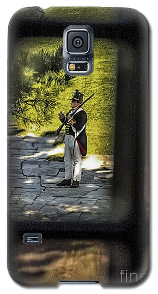 Galaxy S5 Case featuring the photograph A Window Back In Time by Jim Lepard