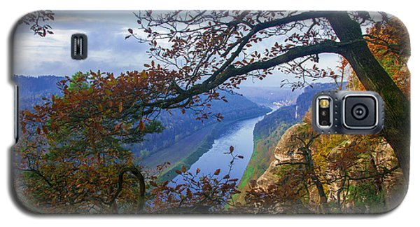 A Window To The Elbe In The Saxon Switzerland Galaxy S5 Case