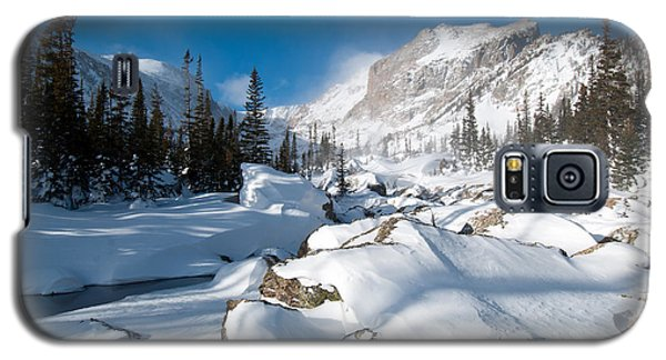 A Winter Morning In The Mountains Galaxy S5 Case
