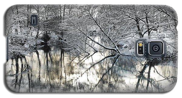 A Winter Scene Galaxy S5 Case