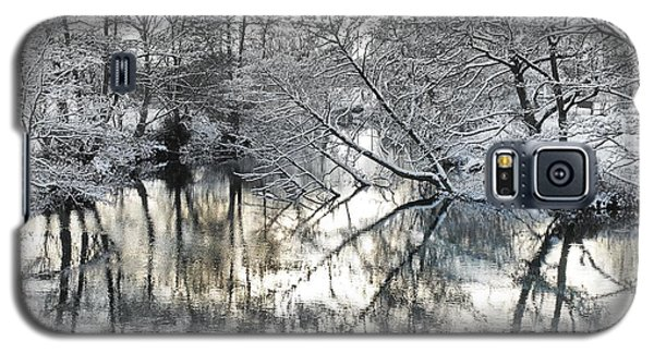 A Winter Scene Galaxy S5 Case