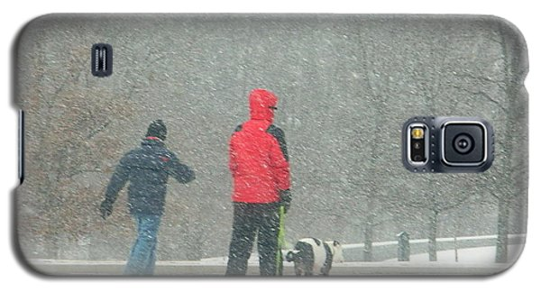 Galaxy S5 Case featuring the photograph A Winter Walk In The Park - Silver Spring Md by Emmy Marie Vickers