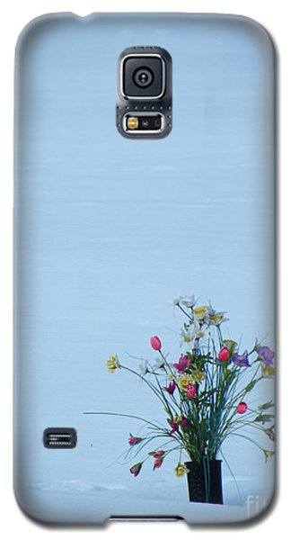 Galaxy S5 Case featuring the photograph A Winter's Sorrow by Brian Boyle