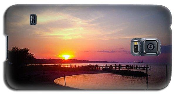 A Yorktown Sunset Galaxy S5 Case