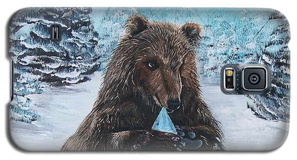 A Young Brown Bear Galaxy S5 Case