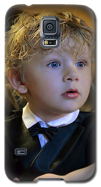 Galaxy S5 Case featuring the photograph A Young Gentleman by Ally  White