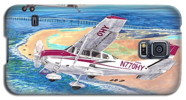 Cessna 206 And A1a Husky Galaxy S5 Case by Jack Pumphrey
