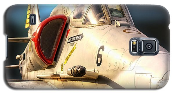 A4 Skyhawk Attack Jet Galaxy S5 Case by Thomas Woolworth