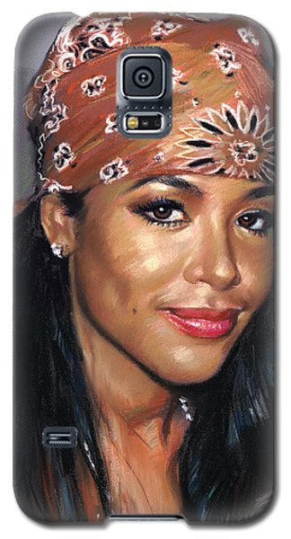 Aaliyah Galaxy S5 Case