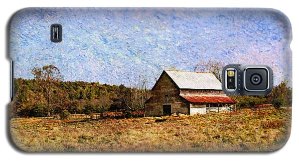 Galaxy S5 Case featuring the photograph Abandoned Barn In North Georgia by Vizual Studio