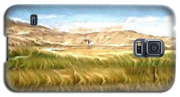 Galaxy S5 Case featuring the digital art Abandoned Blockhouse by Aliceann Carlton