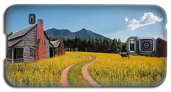 Abandoned Country Life Galaxy S5 Case