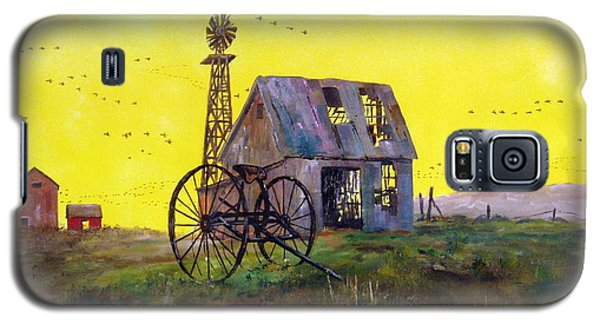 Abandoned  Farm Galaxy S5 Case by Lee Piper