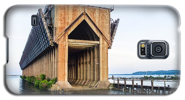Abandoned Ore Dock Marquette Michigan Galaxy S5 Case