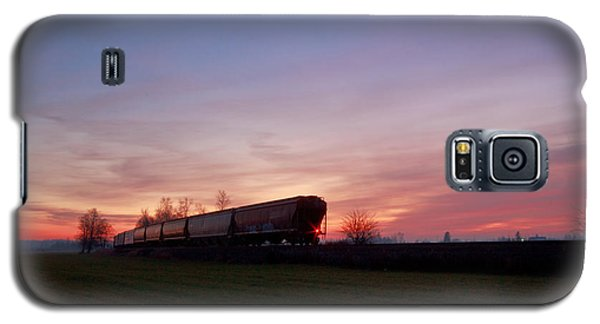 Galaxy S5 Case featuring the photograph Abandoned Train  by Eti Reid