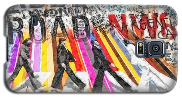 Abbey Road Galaxy S5 Case by Mo T