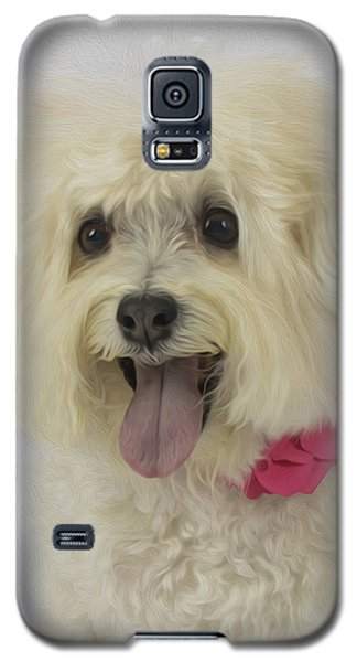 Abby Portrait Oli Galaxy S5 Case
