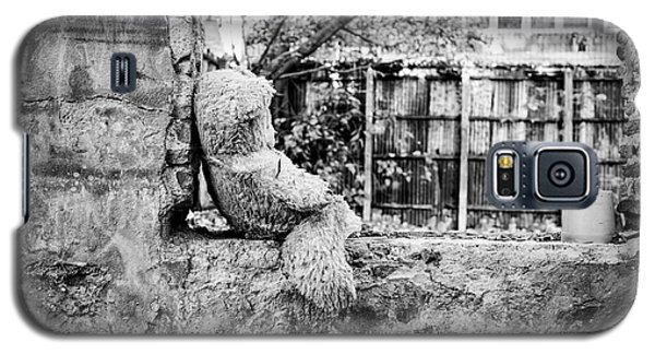 Galaxy S5 Case featuring the photograph Abandoned Teddy Bear I by Dean Harte