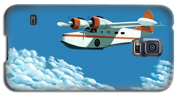 Above It All  The Grumman Goose Galaxy S5 Case by Gary Giacomelli