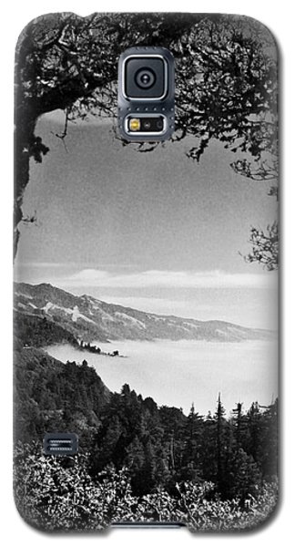 Galaxy S5 Case featuring the photograph Above Nepenthe In Big Sur by Joseph J Stevens