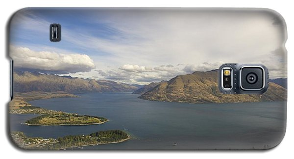 Above Queenstown #2 Galaxy S5 Case by Stuart Litoff