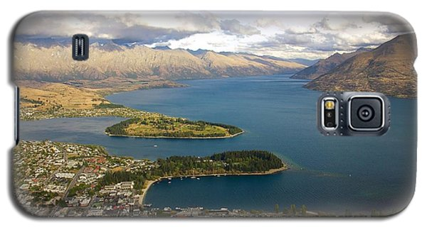 Above Queenstown Galaxy S5 Case by Stuart Litoff