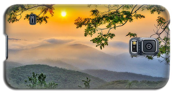 Above The Clouds - Blue Ridge Parkway Galaxy S5 Case