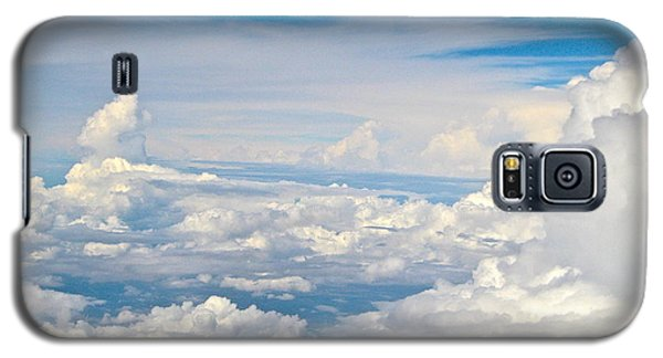 Above The Clouds Over Texas Image B Galaxy S5 Case