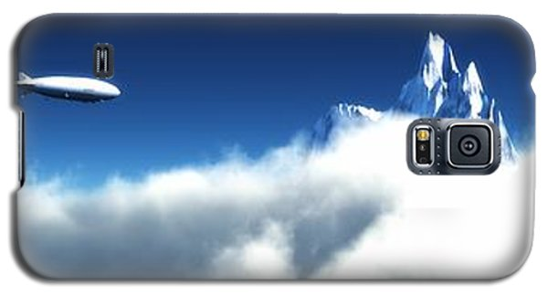 Galaxy S5 Case featuring the digital art Above The Clouds... by Tim Fillingim