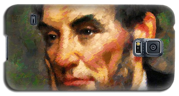Abraham Lincoln - Abstract Realism Galaxy S5 Case