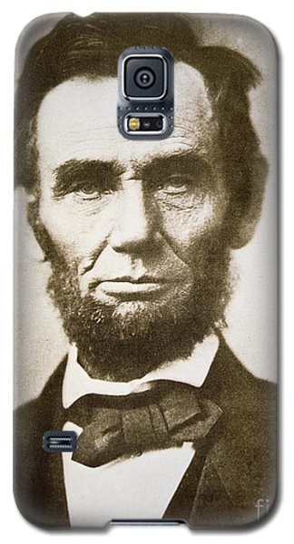Portraits Galaxy S5 Case - Abraham Lincoln by Alexander Gardner