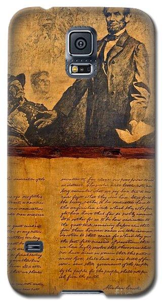 Abraham Lincoln The Gettysburg Address Galaxy S5 Case
