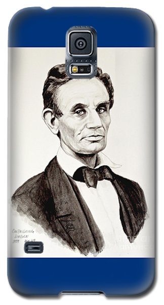 Abraham Lincoln At 49 Galaxy S5 Case