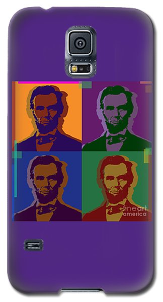 Abraham Lincoln Galaxy S5 Case by Jean luc Comperat