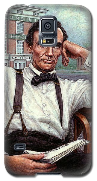 Abraham Lincoln Of Springfield Bicentennial Portrait Galaxy S5 Case