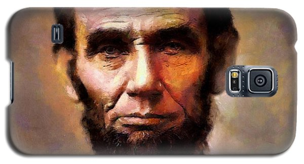 Abraham Lincoln Galaxy S5 Case by Wayne Pascall