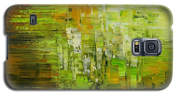 Galaxy S5 Case featuring the painting Absinthe Encore by Tatiana Iliina