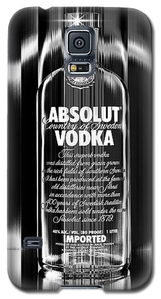 Absolut Black And White Galaxy S5 Case