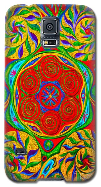 Abstract 01 Galaxy S5 Case by Gregory Dyer